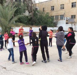 Empowerment of kids in Qadura camp, Ramallah, Palestine